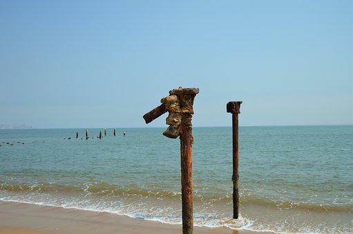 Ocean, Mar, Beach, Beira Mar, Landscape, Sand Beach