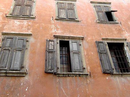 Window, Old, Old Window, Facade, Historically