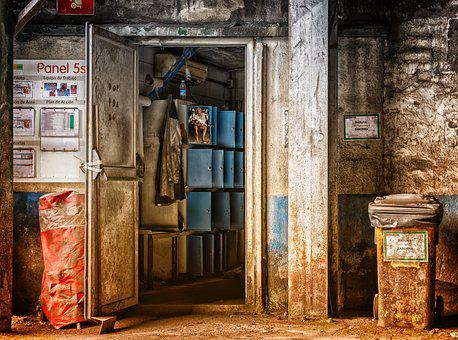 Factory, Space, Lost Places, Pforphoto, Leave, Locker