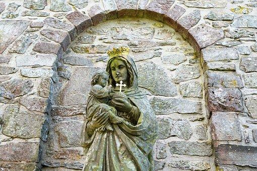 Maria, Fulda, The Milseburg, Chapel, Church, Religion
