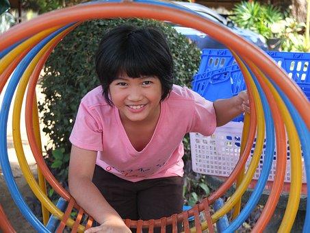 Play, Colors, Circle, Children's Playground