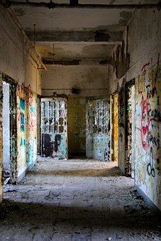 Abandoned, Asylum, Hospital, Mental, Psychiatric