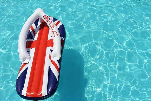 Summer, Pool, Slate, Vacation, The Glare, London