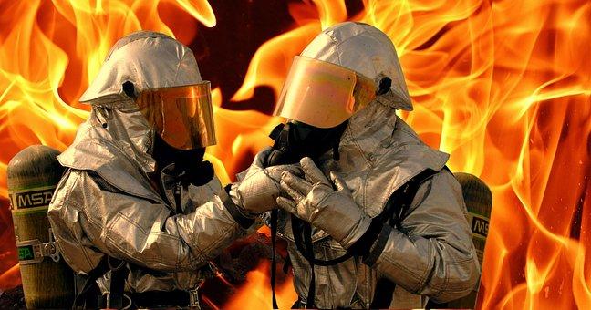 Fire, Equipment, Portrait, Training, Oxygen, Suits