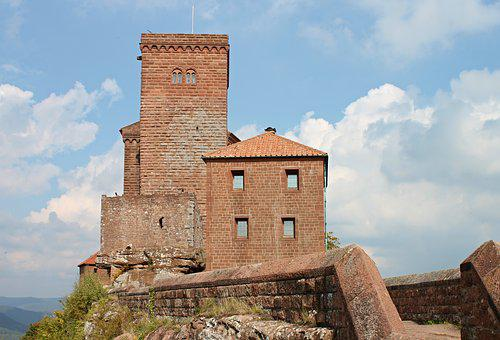 Trifels, Castle, Imperial Castle, Historically