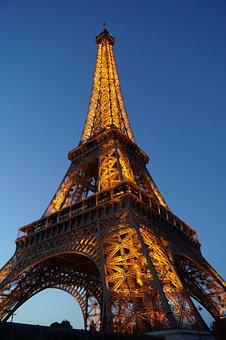 Paris, Eiffel Tower, France, Architecture, Europe