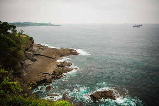 Santander, Sea, Cantabria, Spain, Coast, Ocean, Water
