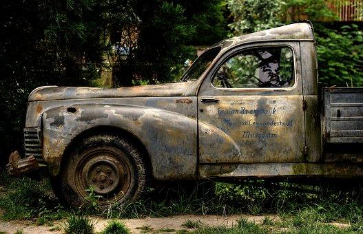 Car, Rust, Wreck, Car Wreck, Oldtimer, Corroded