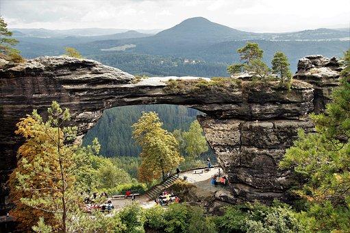 Pravcice Gate, Czech Switzerland, Czech Republic