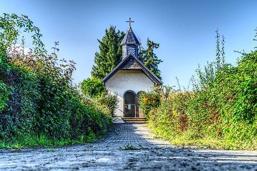 Chapel, Pray, Faith, Heiligenhäuschen, Church, Religion