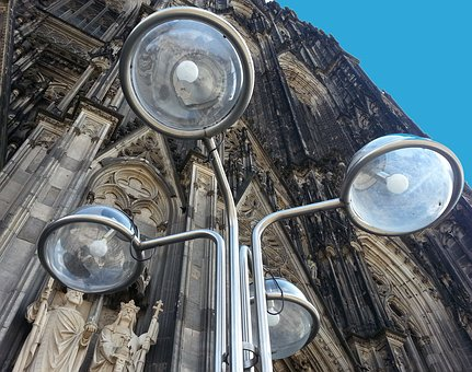 Lights, Sky, Cathedral, Heaven, Art, History, Culture