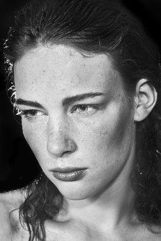 Portrait, Model, Mannequin, Beauty Model, Women's