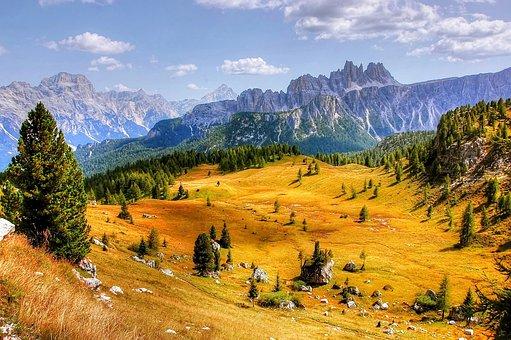 Belluno, Dolomites, Alpine, Italy, Mountains, Nature