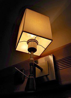 Replacement Lamp, Night, Light, Brown, Hotel, Kamienica
