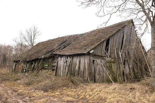 Barn, Old, Building, Wooden, Rural, Country, Board