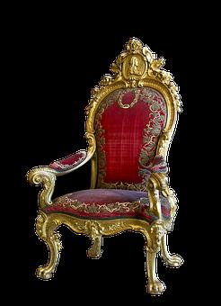 Throne, Ruler Chair, Chair, Seat, Furniture Pieces