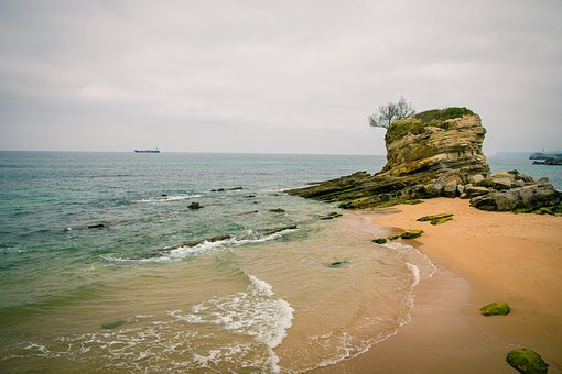 Santander, Spain, Sea, Cantabria, Ocean, Nature, Water