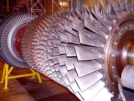 Turbine, Fins, Power Station
