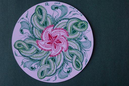Zen Around The Painting, Circle, Rotate