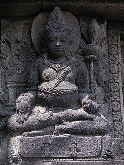 Statue, Buddhist, Meditation, Fernöstlich, Asia, Temple