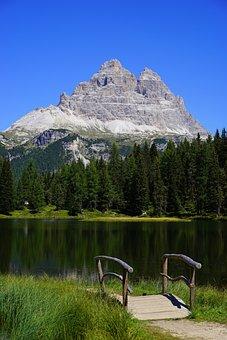 Antorno Lake, Lake, Idyll, Three Zinnen