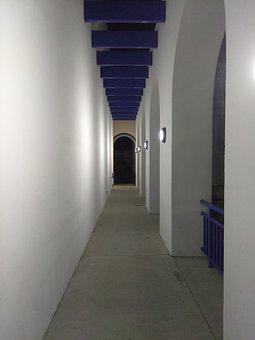 Hallway, White, Interior, Modern, Design, Home, House
