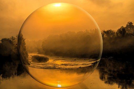 Sunrise, Sun, Morgenrot, Nature, Mood, Morning, Fog