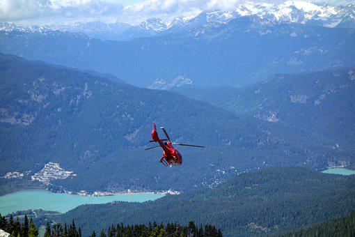 Helicopter, Mountains, Aircraft, Help, Fly