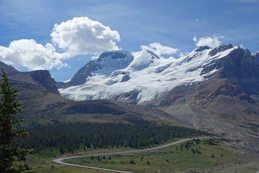 Mountains, Sky, Landscape, Clouds, Blue, Nature