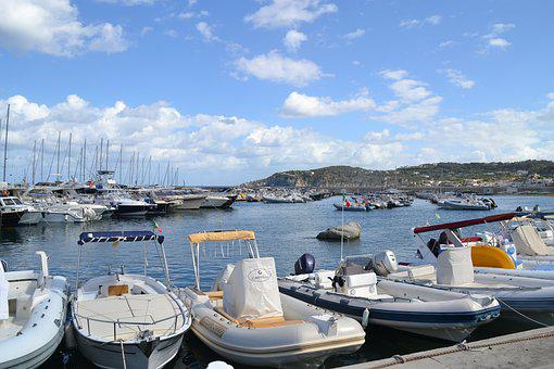Port, Boats, Sea, Anchorage, Ischia, Maritime