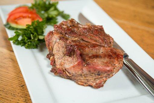 Steak, Meat, Veal, Fried Meat, Grill, Hosper, Mangal
