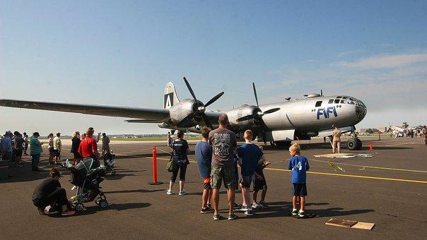 Fifi, Aircraft, Boeing, B-29, Superfortress