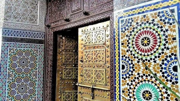 Morocco, Figured It Out, The Door, Mozajka, Ceramic