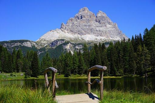 Three Zinnen, The Sesto Dolomites, South Tyrol, Italy