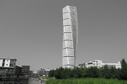 Turning Torso, Malmö, Sweden, Skåne, The West Harbour