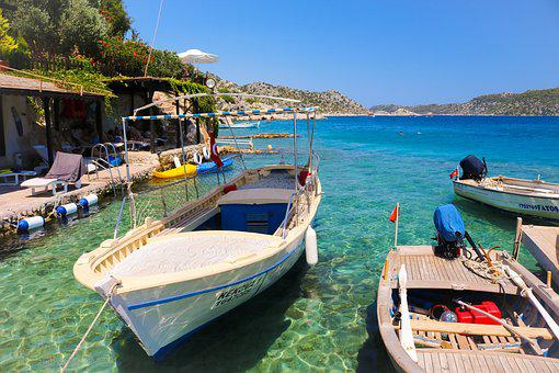 Turkey, Holiday, Sun, Vacation, Summer, Boats, Turkish