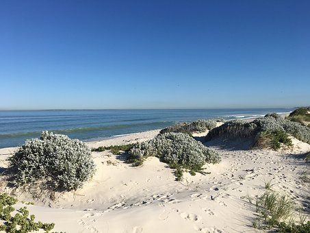 Beach, Blouberg, Africa, Sea, Capetown, Coast