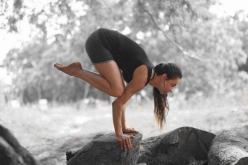 Bakasana, Yoga, Balance On The Arm