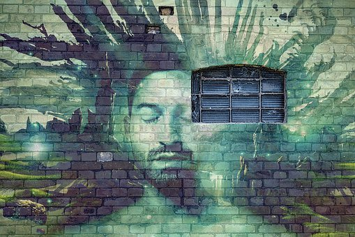 Wall, Brick, Grafitti, Window, Imagination, Ethnic