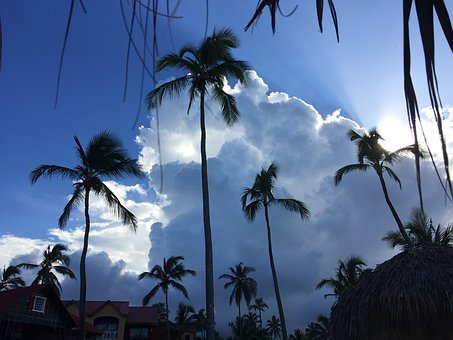 Sky, Clouds, Caribbean, Clouds Form, Blue