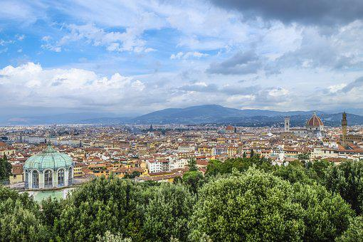 Firenze, Sight, Cityscape, City, Old Town, View, Vista
