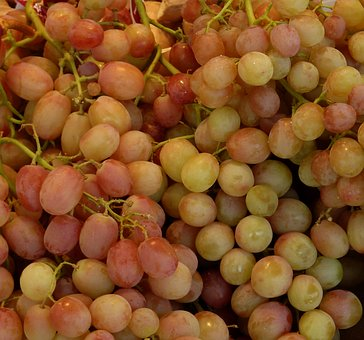 Grapes, Sweet, Fruit, Green, Vine, Green Grapes, Fruits