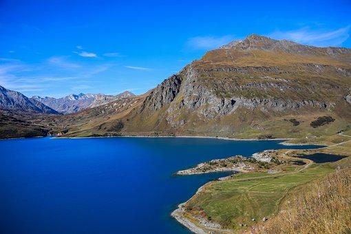Mountain, Lake, Mountain Lake, Italy, Water, Nature