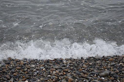 Landscape, Stones, Sea, Beach