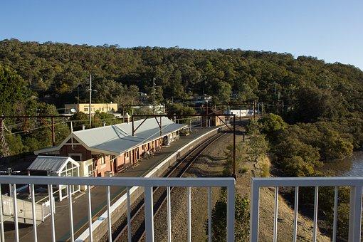 Nsw, Transport, Train, Australia, Travel, Landscape