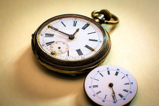 Clock, Pocket Watch, Clock Face, Pointer, Movement