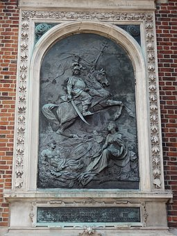 Sculpture, Krakow, Freedom, Poland, Outdoor, Square
