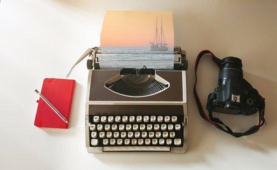 Ship, Sail, Typewriter, Imagination, Bird, Universe