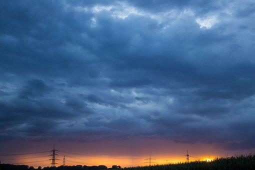 Drama, Sky, Nature, Clouds, Landscape, Storm Clouds