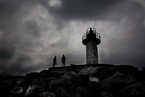 Lighthouse, Beach, Filyos, Zonguldak, Turkey, Coastline